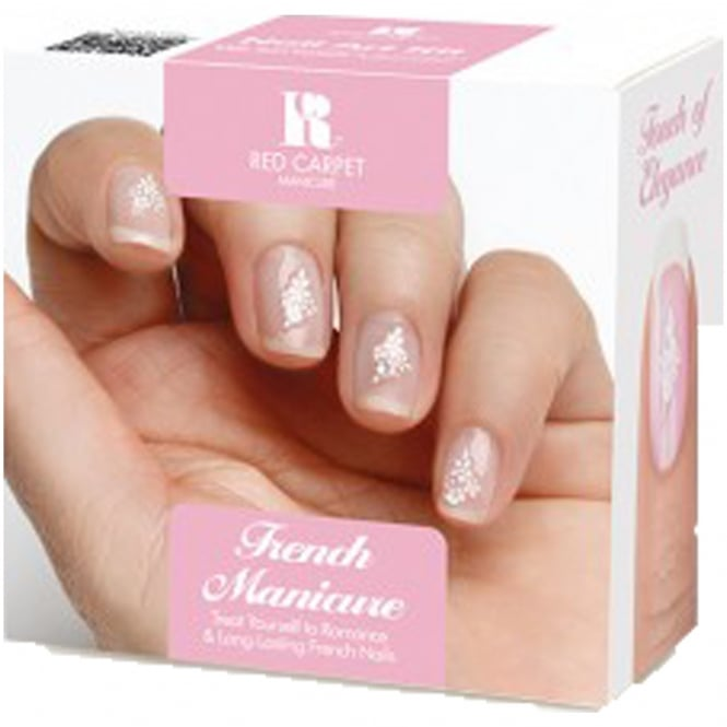 Red Carpet Manicure Gel French Manicure Kit