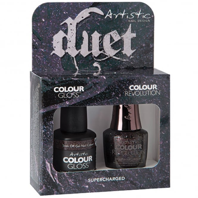 Artistic Colour Gloss Fueled and Furious 2017 Nail Polish Collection - Supercharged Duet (2100131)