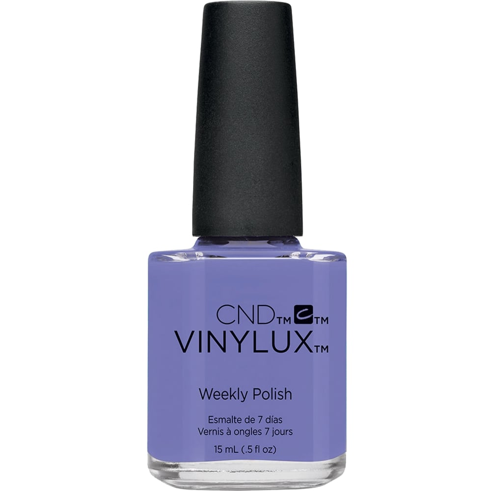 cnd vinylux garden muse weekly nail polish 2015 wisteria