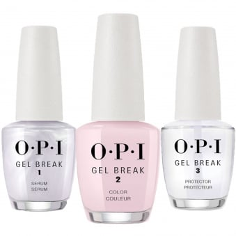 Gel Break Trio Pack - Properly Pink (NT P01) 3 x 15ml
