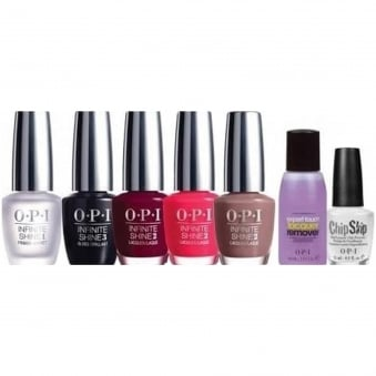 Gel Effects Lacquer System - Chip Skip & Remover 7 Piece Starter Kit (1 x 3.75ml - 5x 15ml - 1 x 30ml)