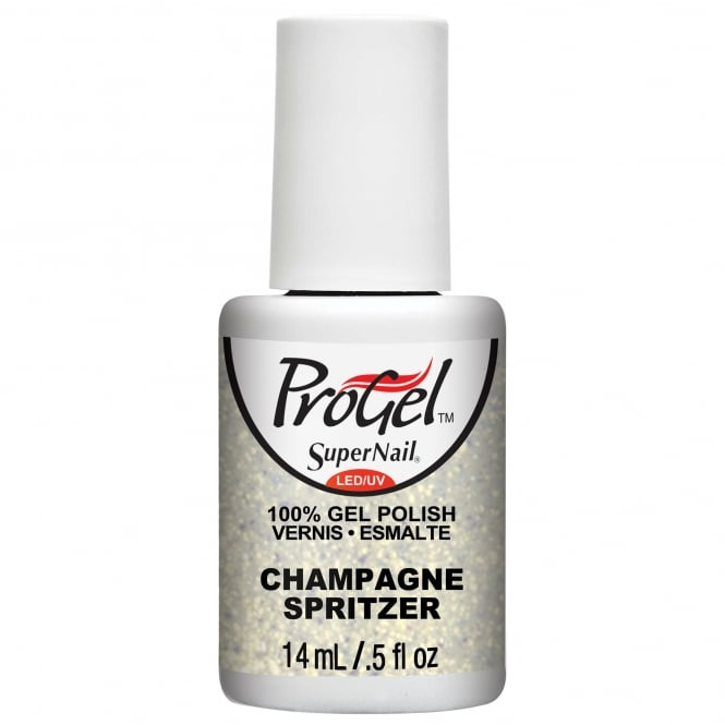 SuperNail Pro Gel Nail Polish - Champagne Spritzer 14ml