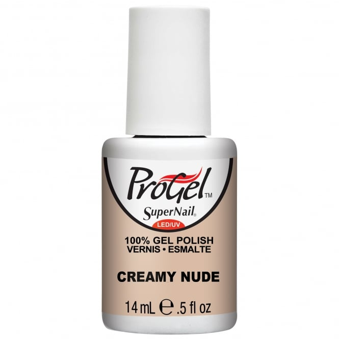 SuperNail ProGel Gel Nail Polish - Creamy Nude 14ml