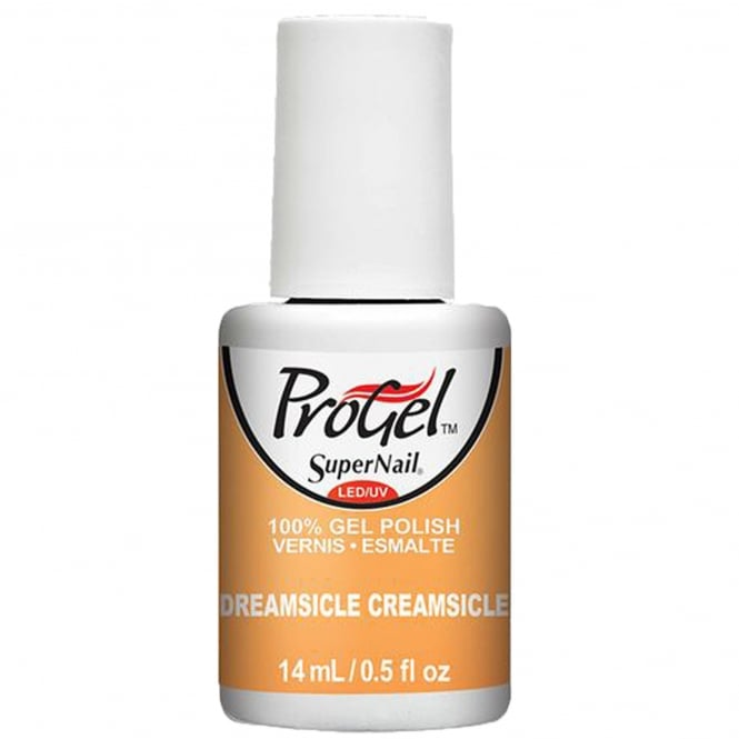 SuperNail ProGel Gel Nail Polish - Dreamsicle Creamsicle 14ml