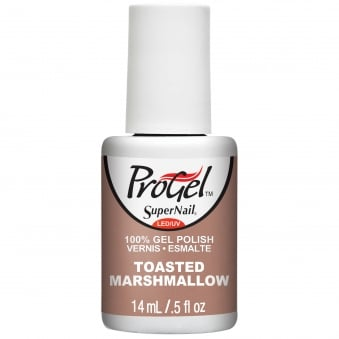 Gel Nail Polish - Toasted Marshmallow 14ml