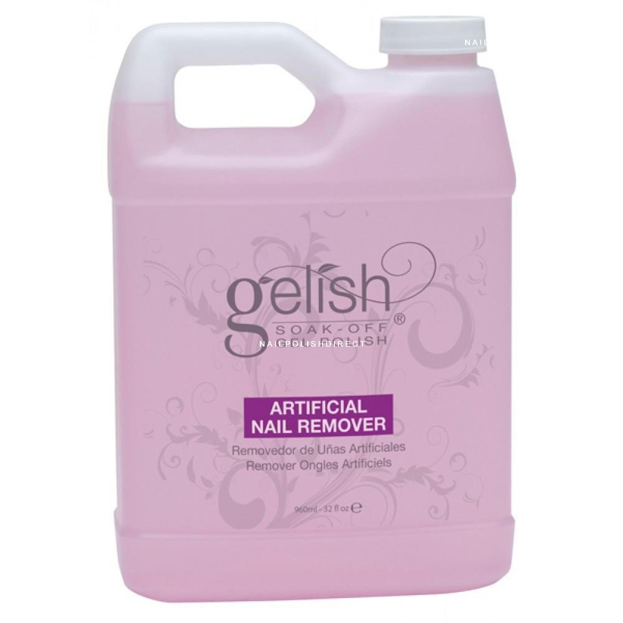 Gelish - Acrylic Artificial Nail Remover 960 ml