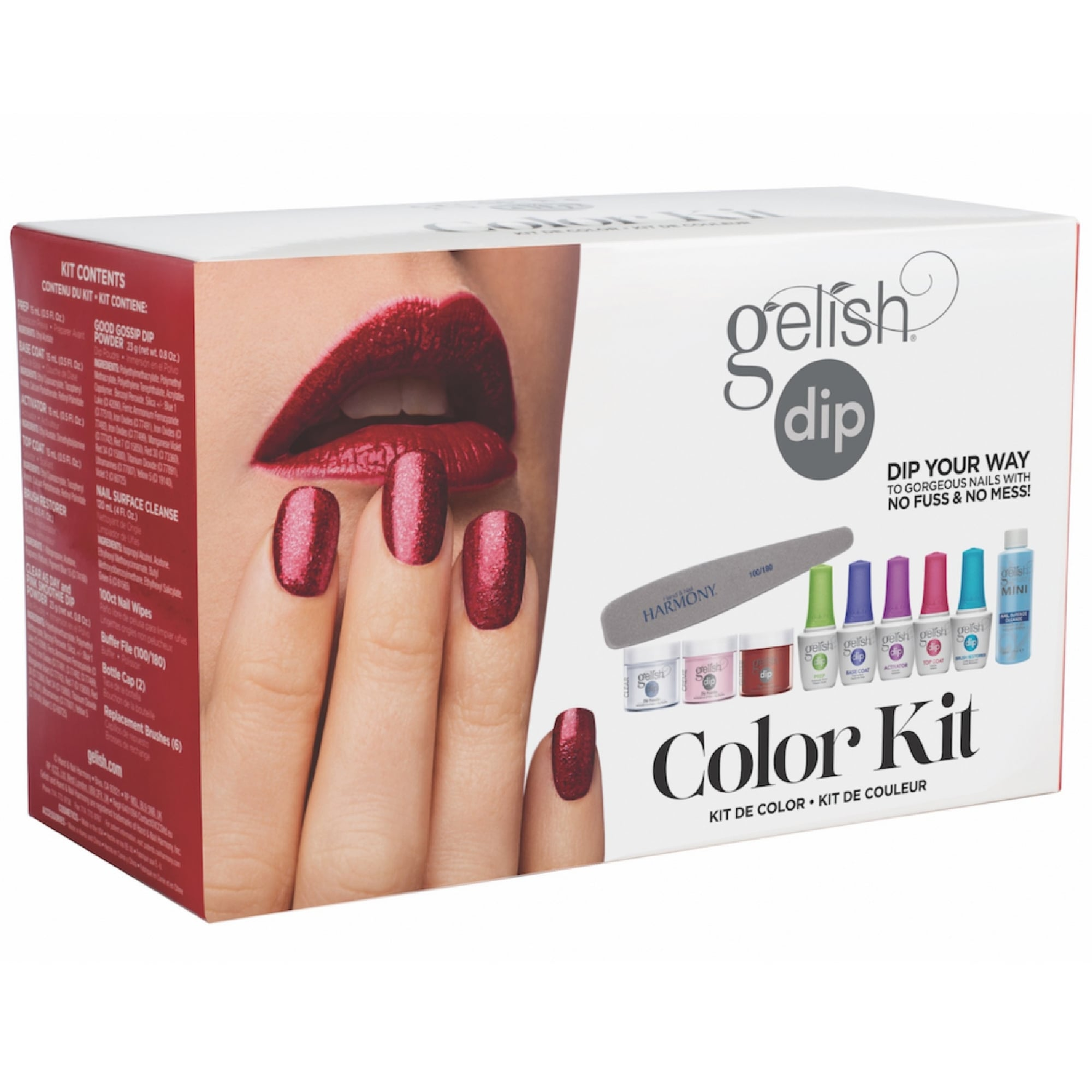 Nail Dipping System: Colour Kit (6 Piece Set