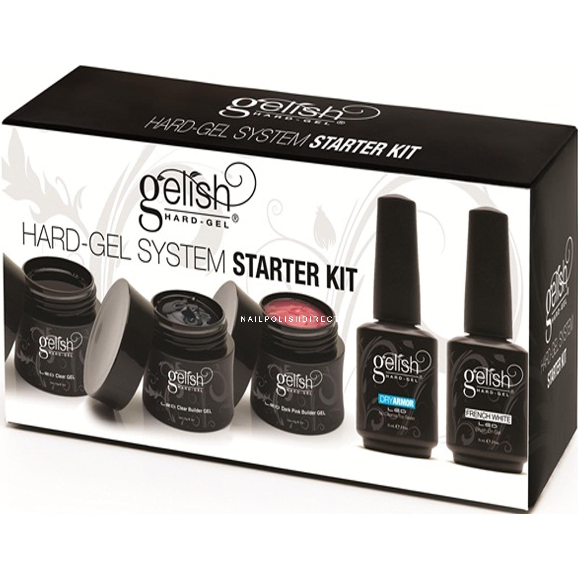 Professional Gel Nail System: Hard Gel Professional Gel Kit (5 X 15ML