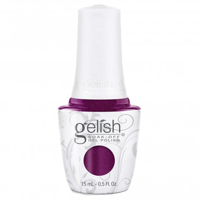 Gelish Soak-Off Gel Nail Polish - Berry Buttoned Up 15ml (01846)