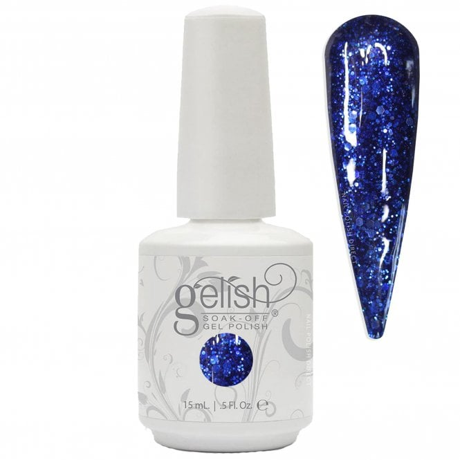 Gelish Soak-Off Gel Nail Polish - Here's To The Blue Year 15ml (01486)