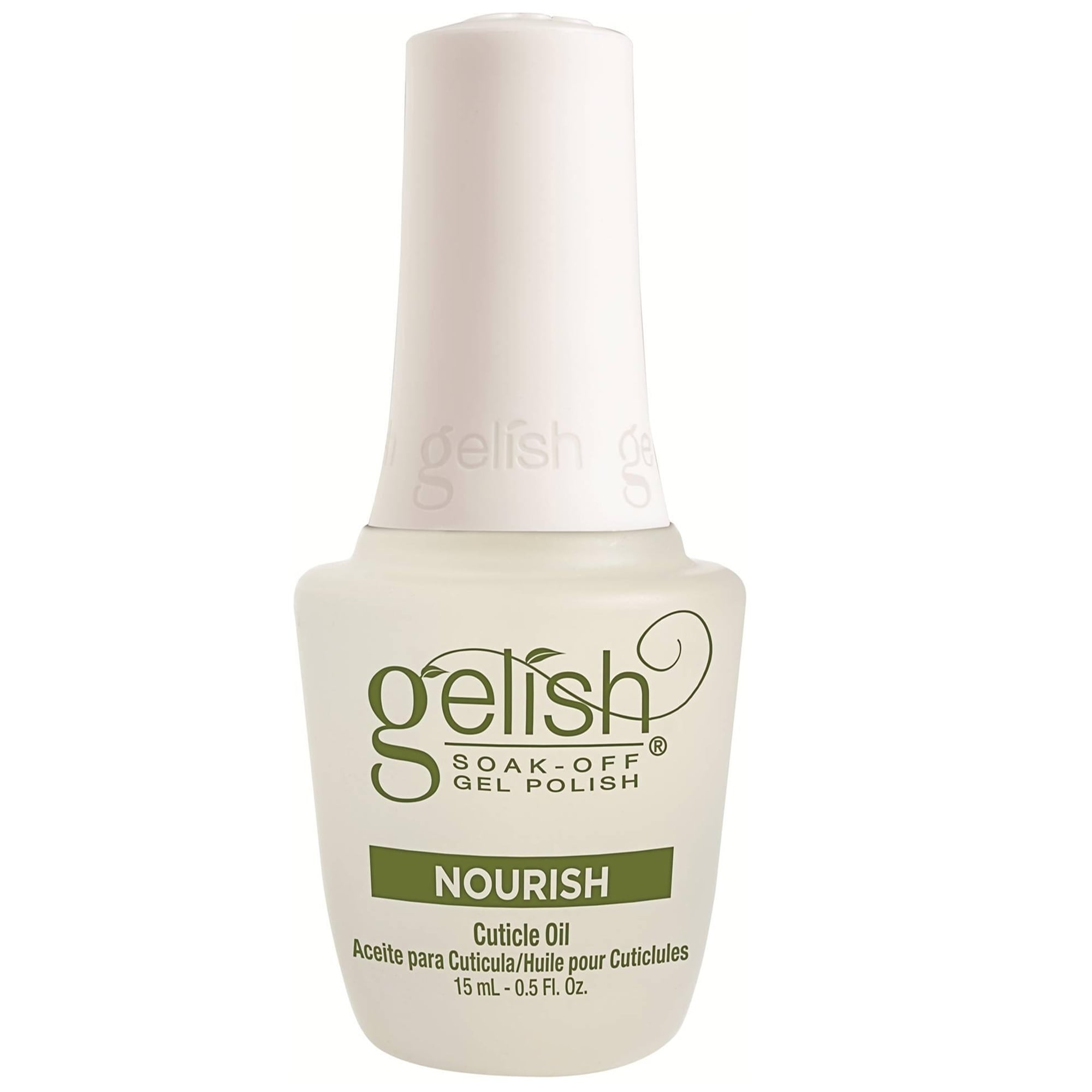 Gelish Soak-Off Gel Nail Polish - Nourish Cuticle Oil 15ml