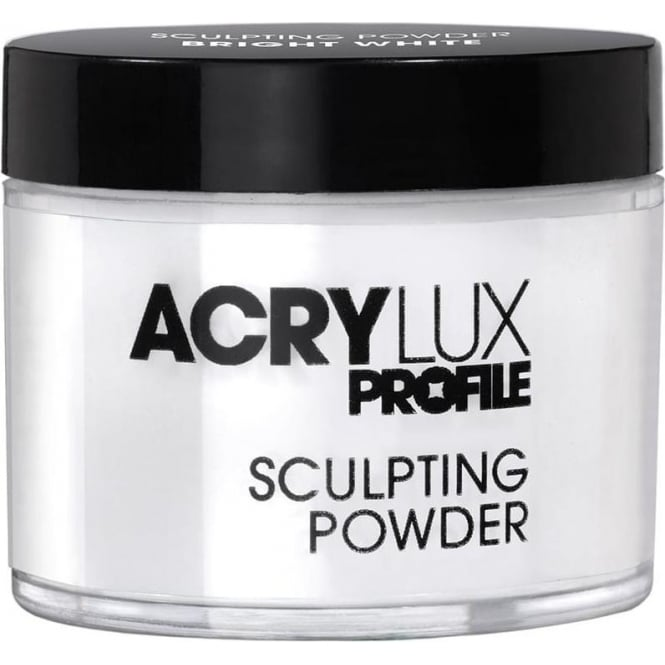 Gellux Acrylux Profile Professional Sculpting Powder - Bright White 45g (0212786)