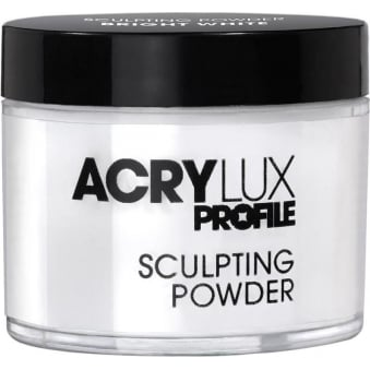 Acrylux Profile Professional Sculpting Powder - Bright White 45g (0212786)