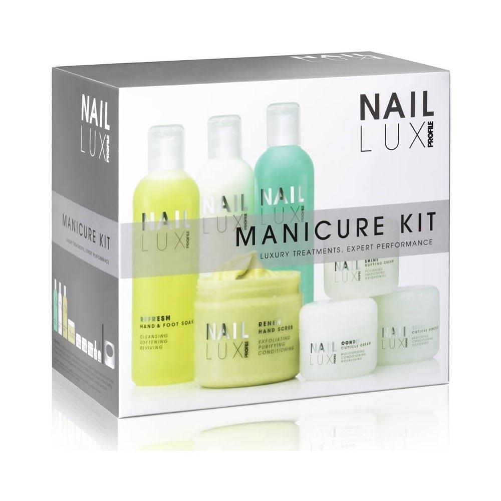 gellux naillux profile professional set manicure kit 0216309 gellux naillux profile professional set manicure kit 11 piece 0216309