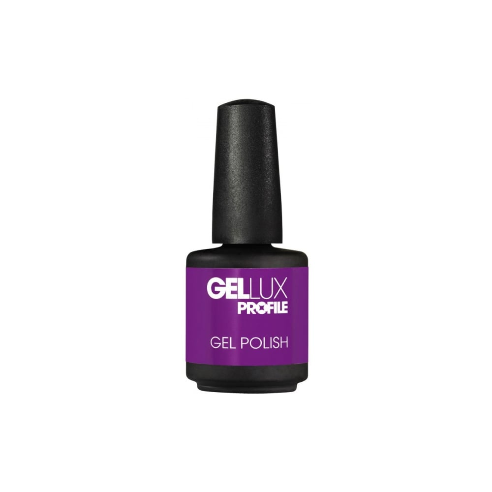 Gellux Profile Luxury Professional Gel Nail Polish - Flaming Purple