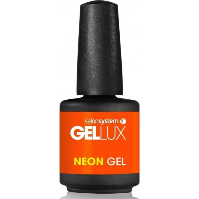 Gellux Profile Luxury Professional Gel Nail Polish - Orange Fever Neon 15ml (0212841)