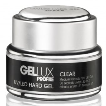 Profile Luxury Professional Hard Gel Nail UV & LED Treatment - Clear Gel 15ml (0212551)