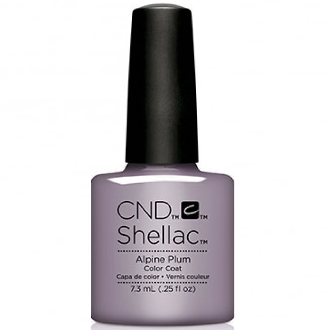 CND Shellac Glacial Illusion 2017 Power Polish Collection - Alpine Plum 7.3ml
