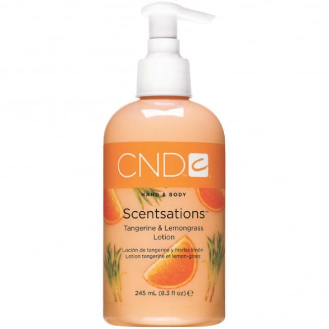 CND Hand & Body Scentsations - Tangerine & Lemongrass Lotion 245ml