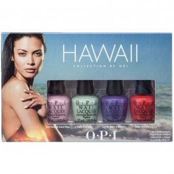 Hawaii 2015 Nail Polish Mini Collection - Little Hulas (3.75ml x4)