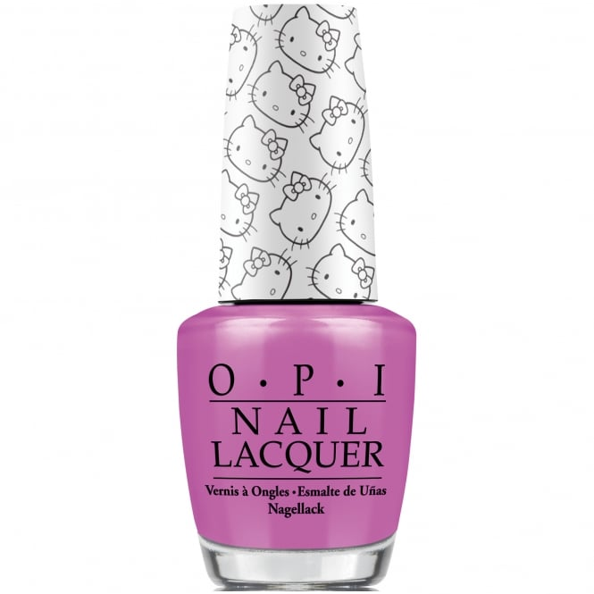 OPI Hello Kitty 2016 Nail Polish Collection - Super Cute In Pink 15ml (NL H87)