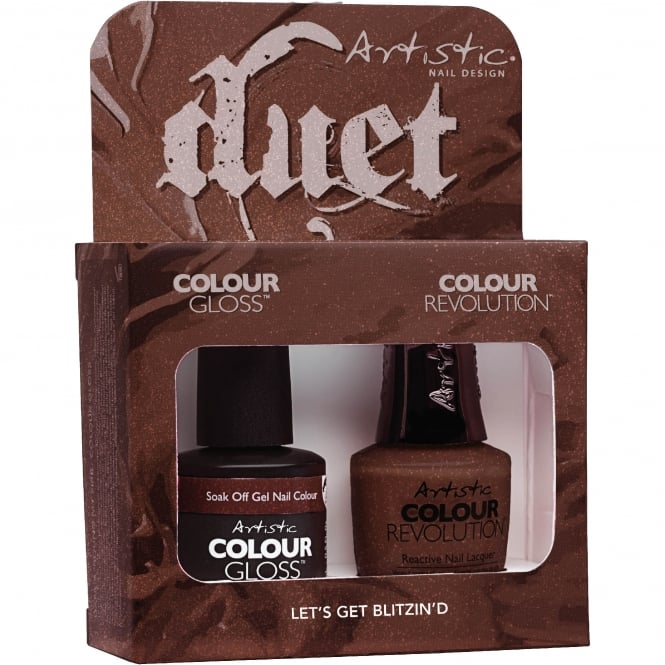 Artistic Colour Gloss Holiday Hangover 2017 Nail Polish Collection - Let's Get Blitzin'd Duet (2100140)