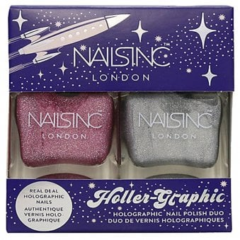 Holler Graphic - Nail Polish Duo Set - (2 X 14ML)