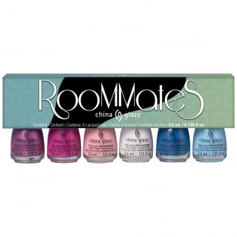 House Of Colour 2016 Nail Polish Mini Spring Collection - Room Mates (6x 3.75mL)
