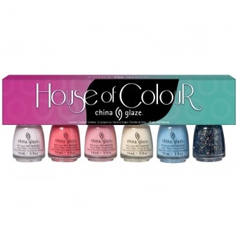 House Of Colour 2016 Nail Polish Spring Collection - 6 piece Set (6x 14mL)