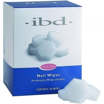 Nail Wipes - Lint Free (80 Wipes)