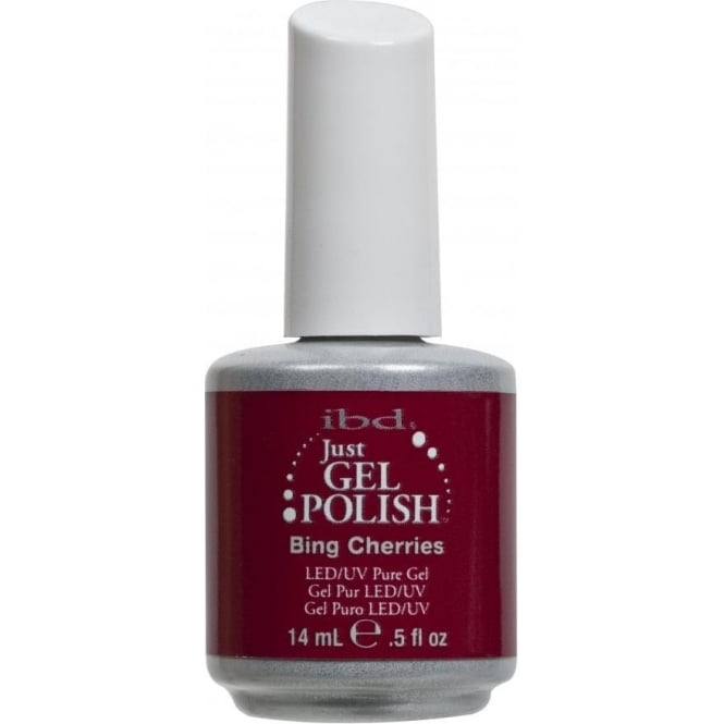 IBD Gel Professional Pure LED & UV Just Gel Polish - Bing Cherries - 14 ml