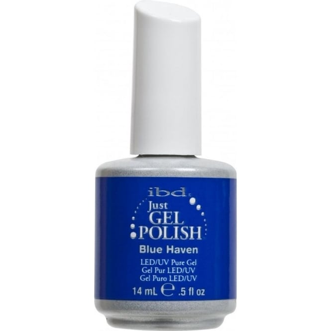 IBD Gel Professional Pure LED & UV Just Gel Polish - Blue Haven - 14 ml