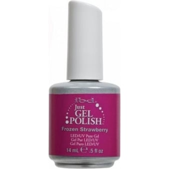 Pure LED & UV Just Gel Polish - Frozen Strawberry 14ml