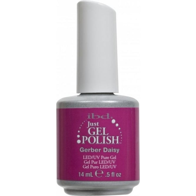 IBD Gel Professional Pure LED & UV Just Gel Polish - Gerber Daisy - 14 ml