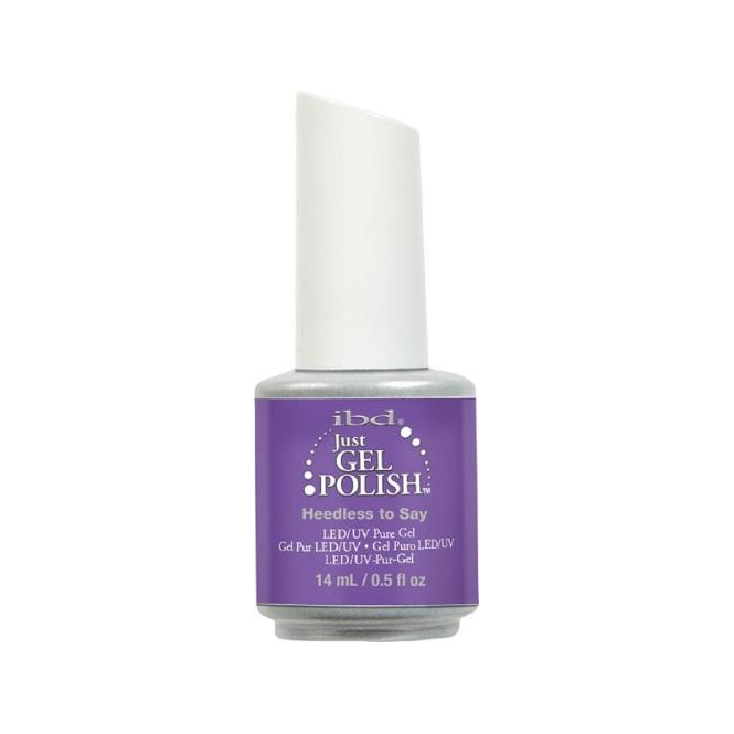 IBD Gel Professional Pure LED & UV Just Gel Polish - Heedless To Say 14ml