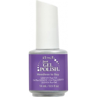 Pure LED & UV Just Gel Polish - Heedless To Say 14ml