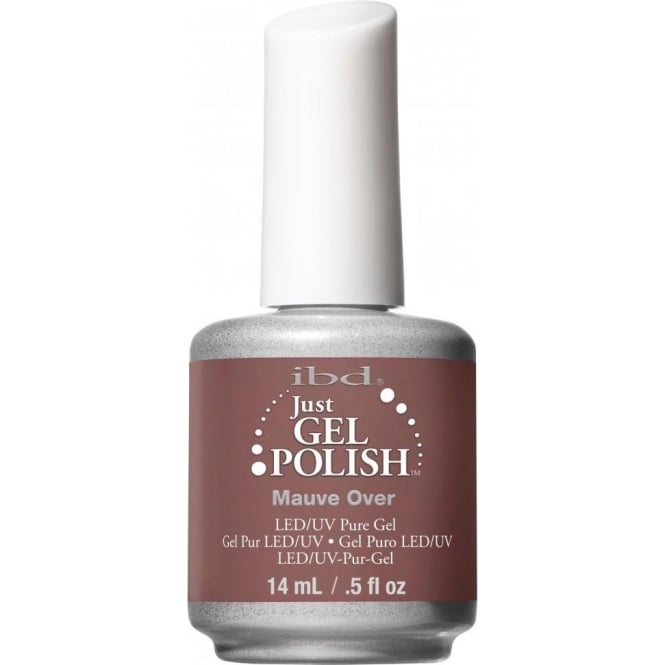 IBD Gel Professional Pure LED & UV Just Gel Polish - Mauve Over 14 ml