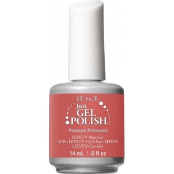 Pure LED & UV Just Gel Polish - Papaya Princess 14ml