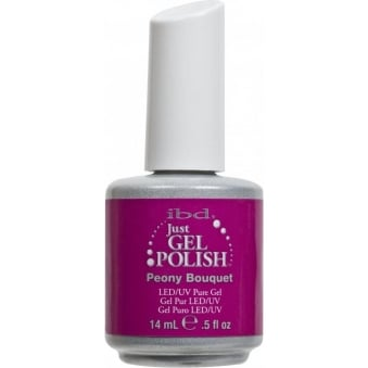Pure LED & UV Just Gel Polish - Peony Bouquet 14ml