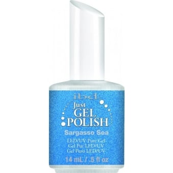 Pure LED & UV Just Gel Polish - Sargasso Sea - 14 ml