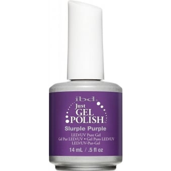 Pure LED & UV Just Gel Polish - Slurple Purple - 14 ml