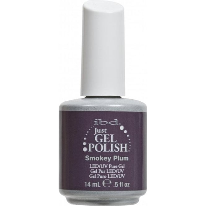 IBD Gel Professional Pure LED & UV Just Gel Polish - Smokey Plum 14ml