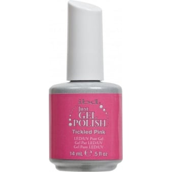 Pure LED & UV Just Gel Polish - Tickled Pink 14ml