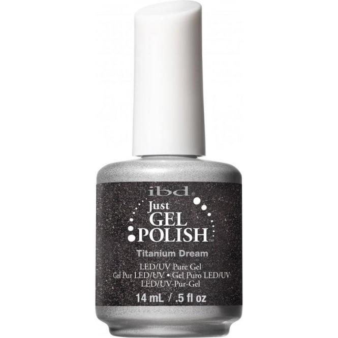 IBD Gel Professional Pure LED & UV Just Gel Polish - Titanium Dream 14 ml