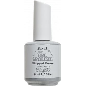 Pure LED & UV Just Gel Polish - Whipped Cream - 14 ml