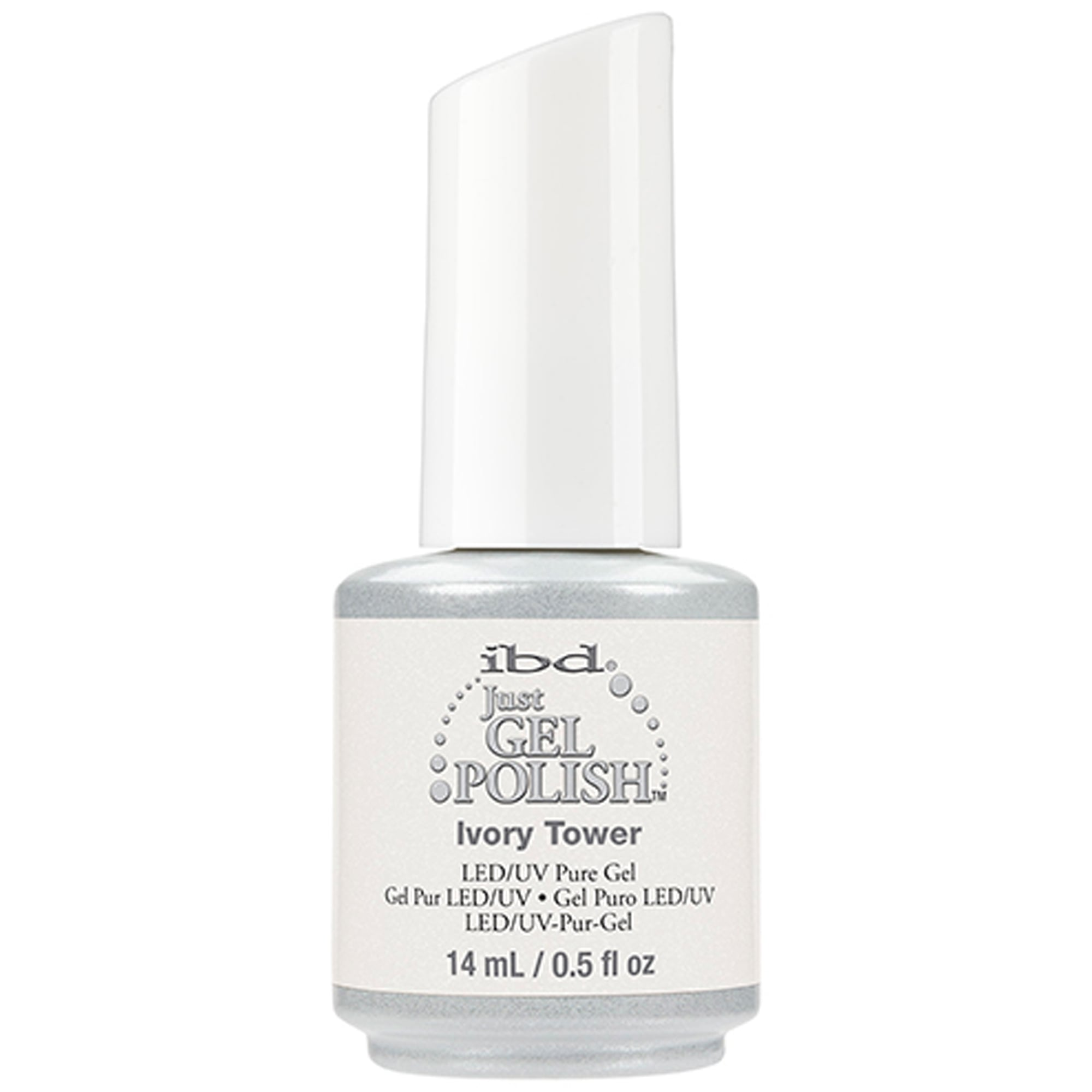 IBD Pure LED & UV Just Gel Polish - Ivory Tower 14ml (132838)