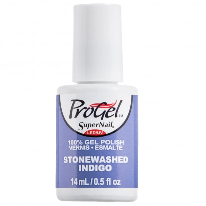 SuperNail ProGel Indigo Maven Gel Nail Polish Collection - Stone Washed Indigo 14ml