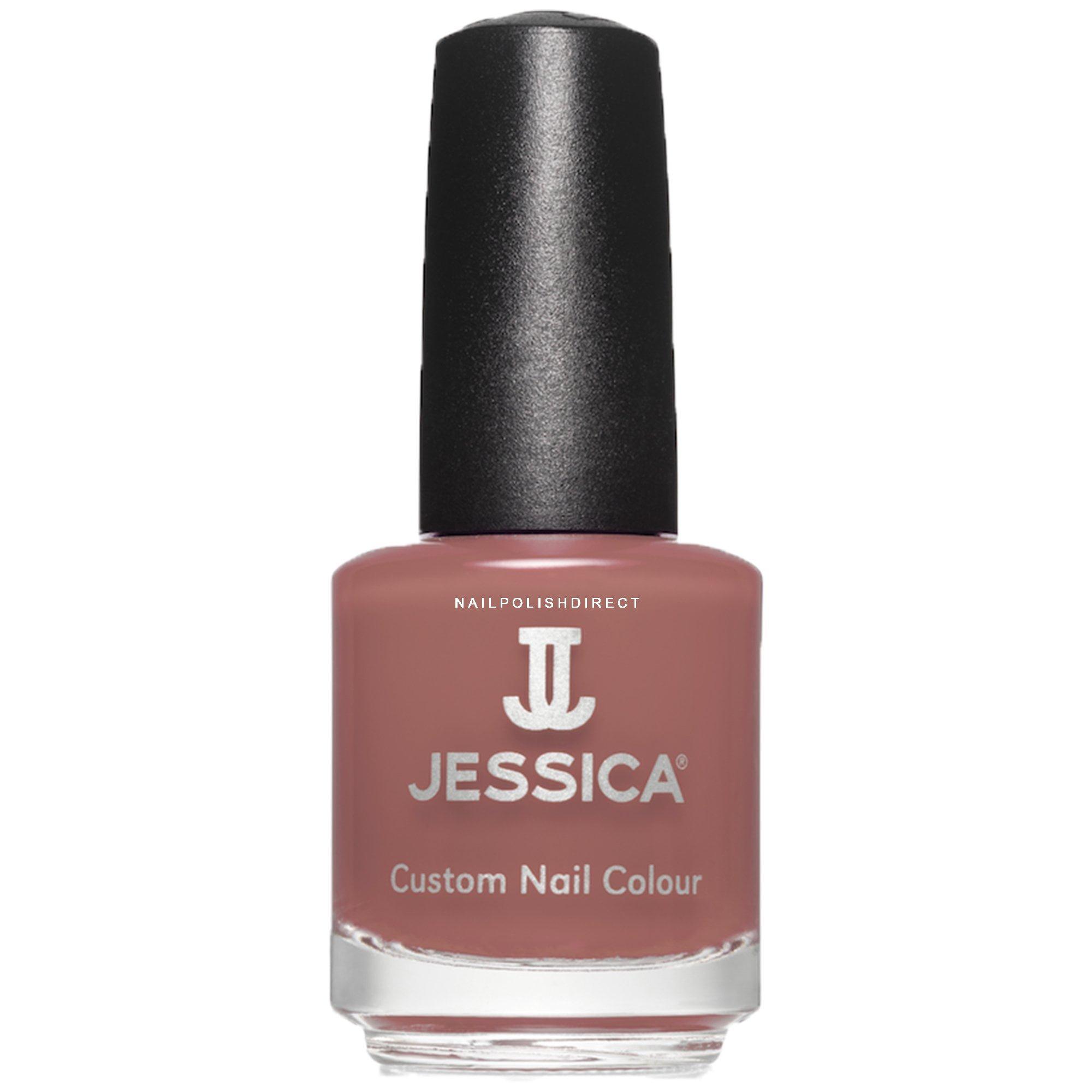 Jessica Orange Nail Polish: Jessica Autumn Romance Collection