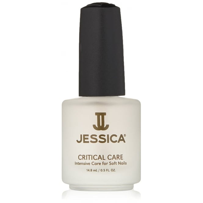 Jessica Critical Care Basecoat And Topcoat For Soft Nails 14.8ml