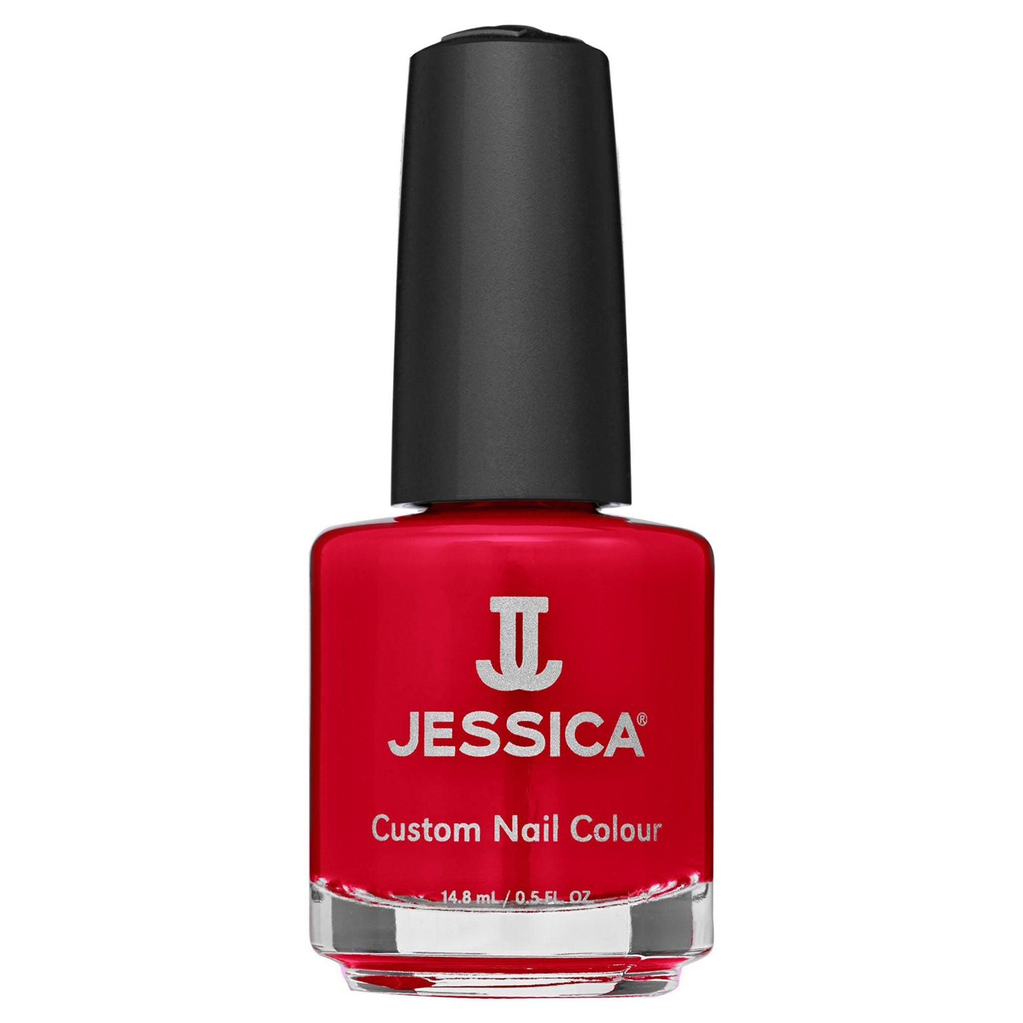 Jessica Nail Polish Collection Summer Neon Nails - Atomic Red (791)